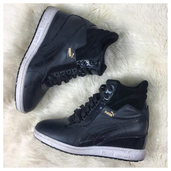 6ff36a29c25 Puma Women s AdVantage Wedge Sneakers Size 9.5. M 5b69fa828869f7bd8b9e798a
